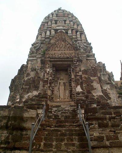 Ein alter Tempel in Ayutthaya