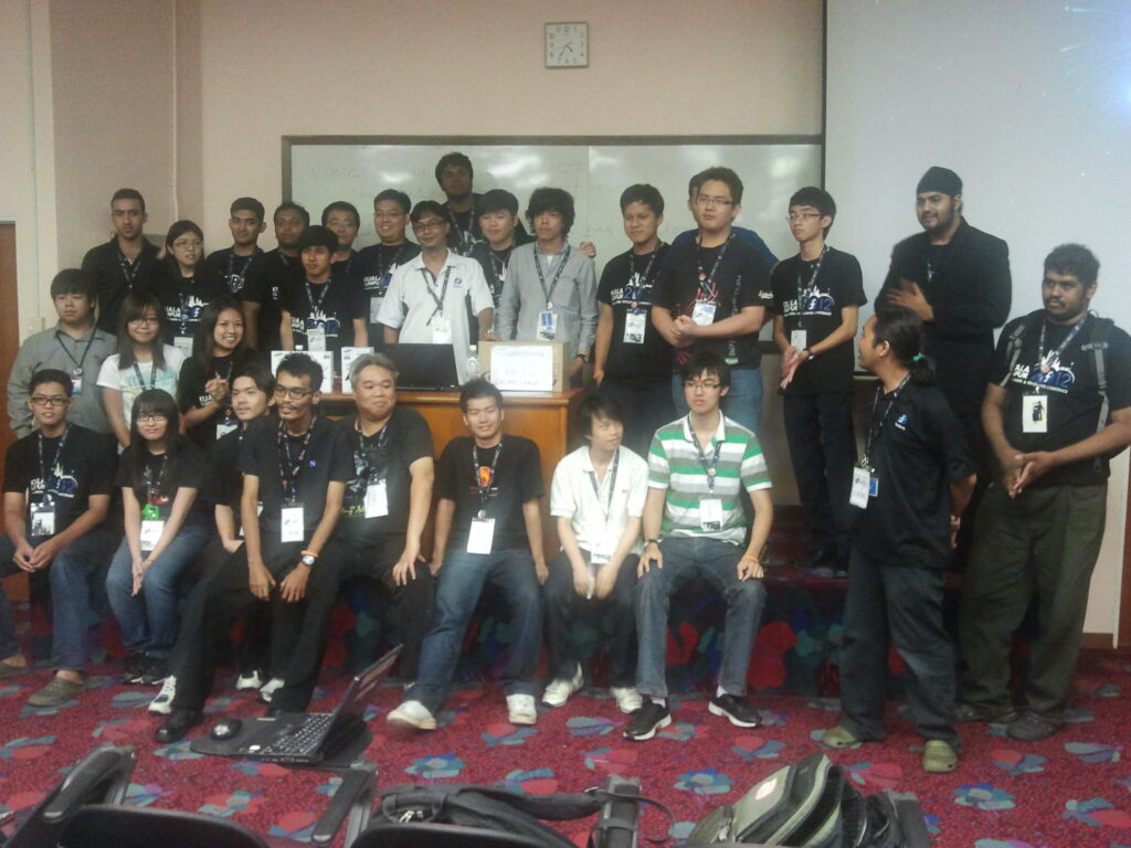FUDCon KL 2012 volunteers